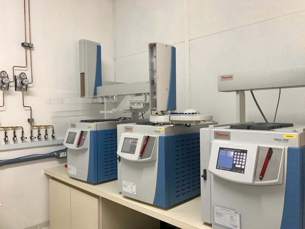 Análise de cromatografia gasosa
