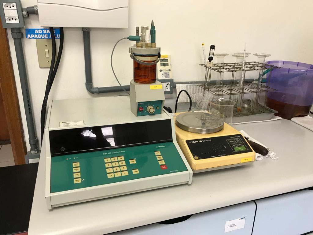 Análise físico-química de óleo de transformador