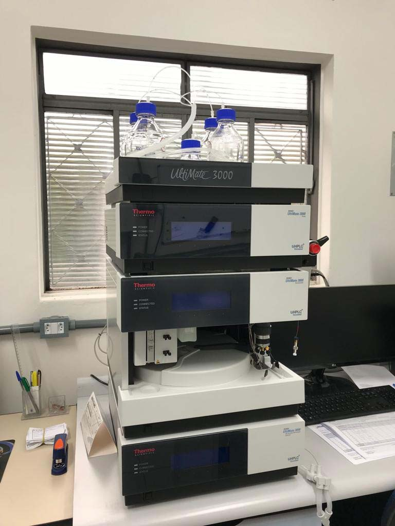 Laboratório de análise de óleo
