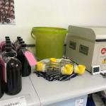 Ensaio de rigidez dielétrica do óleo isolante