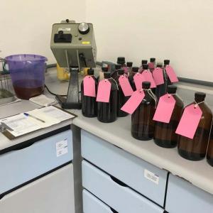 Analise físico química de óleo isolante